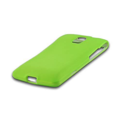 Neon Green Rubberized Hard Case for Pantech Discover