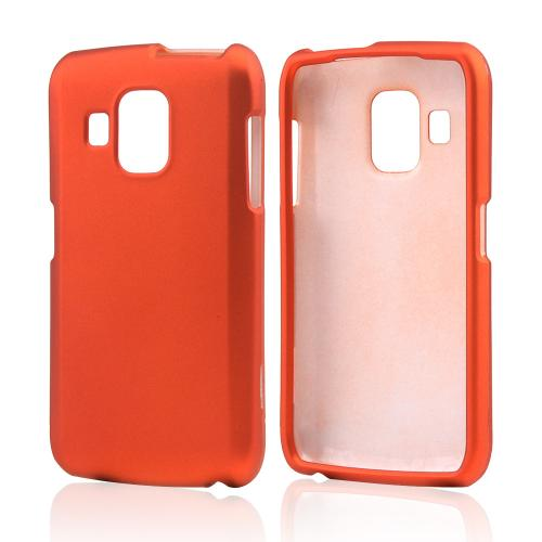 Orange Rubberized Hard Case for Pantech Perception