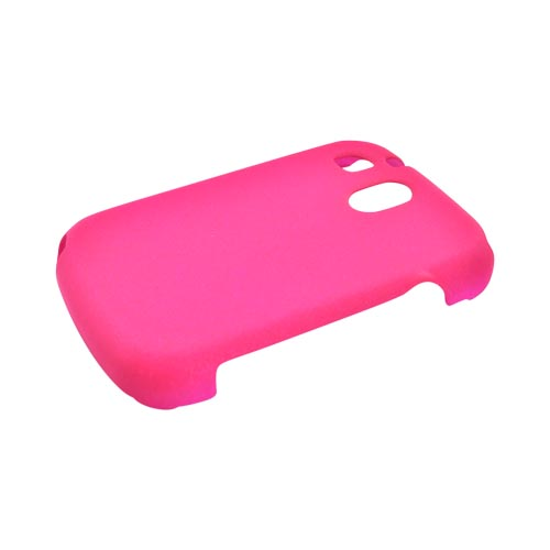 Talon Pantech Jest TXT8040 Rubberized Hard Case - Hot Pink