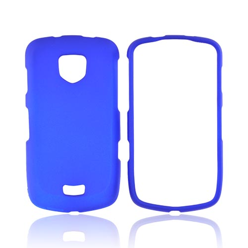 Samsung Droid Charge Rubberized Hard Case - Blue