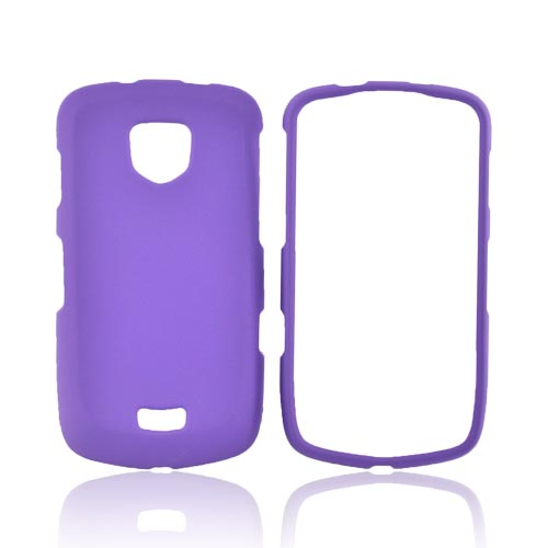 Samsung Droid Charge Rubberized Hard Case - Purple