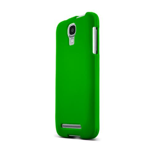 Green Samsung Ativ SE Matte Rubberized Hard Case Cover; Perfect fit as Best Coolest Design Plastic cases