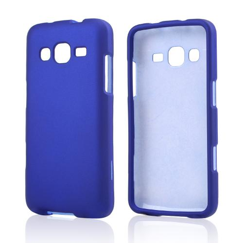 Blue Rubberized Hard Case for Samsung ATIV S Neo