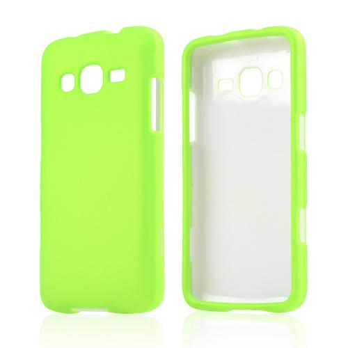 Neon Green Rubberized Hard Case for Samsung ATIV S Neo