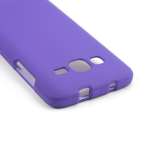 Purple Rubberized Hard Case for Samsung ATIV S Neo