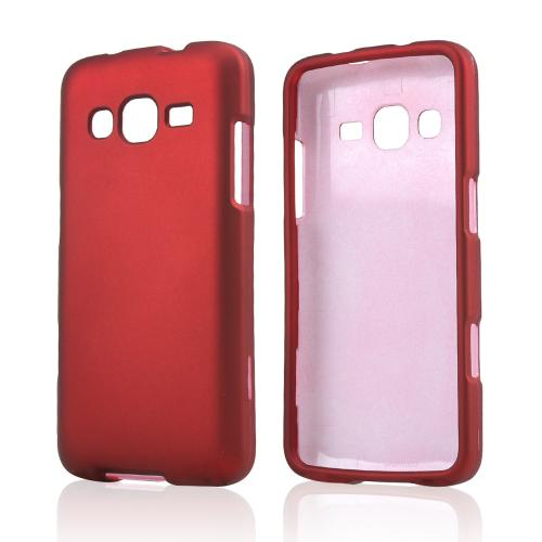 Red Rubberized Hard Case for Samsung ATIV S Neo