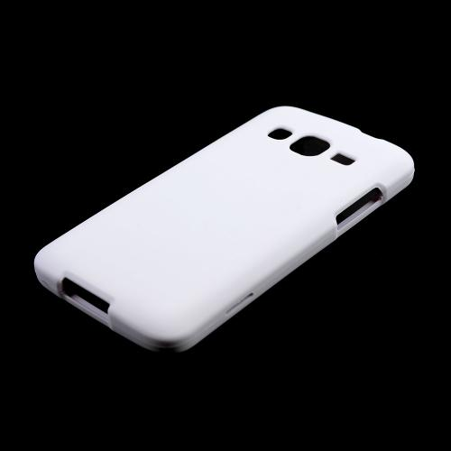 White Rubberized Hard Case for Samsung ATIV S Neo