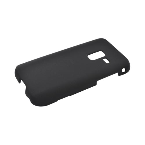 Samsung Conquer Rubberized Hard Case - Black