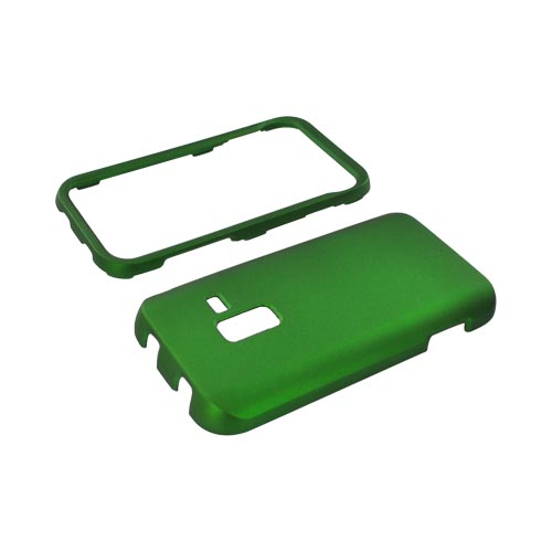 Samsung Conquer Rubberized Hard Case - Green