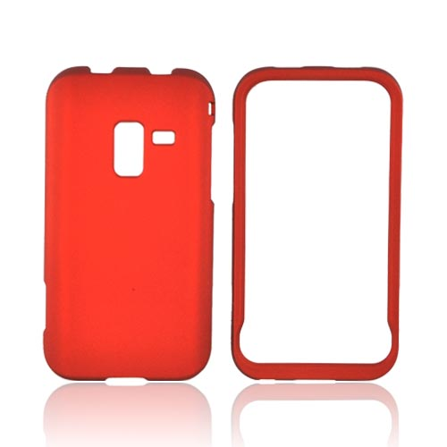 Samsung Conquer Rubberized Hard Case - Orange