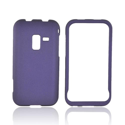 Samsung Conquer Rubberized Hard Case - Purple