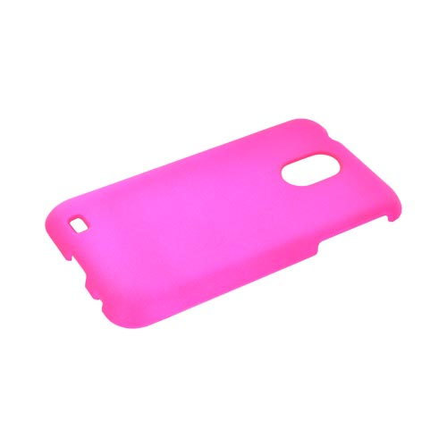 Samsung Epic 4G Touch Rubberized Hard Case - Hot Pink