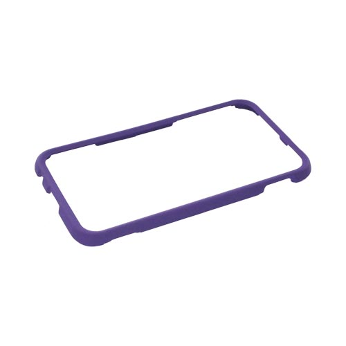 Samsung Epic 4G Touch Rubberized Hard Case - Purple