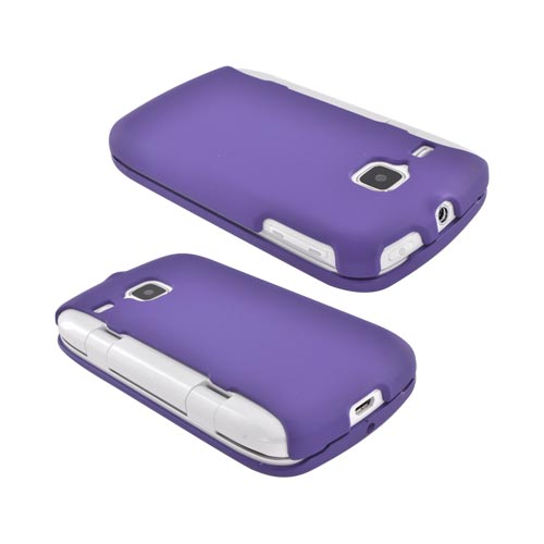 Samsung DoubleTime Rubberized Hard Case - Purple