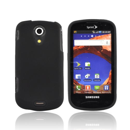 Luxmo Samsung Epic 4G Rubberized Hard Case - Black