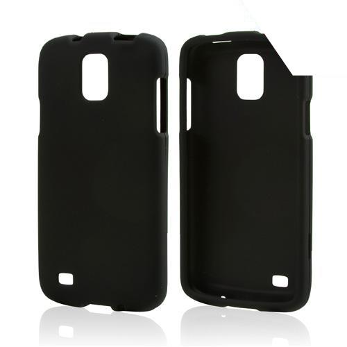 Black Rubberized Hard Case for Samsung Galaxy S4 Active