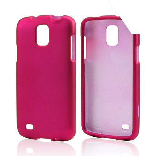Hot Pink Rubberized Hard Case for Samsung Galaxy S4 Active