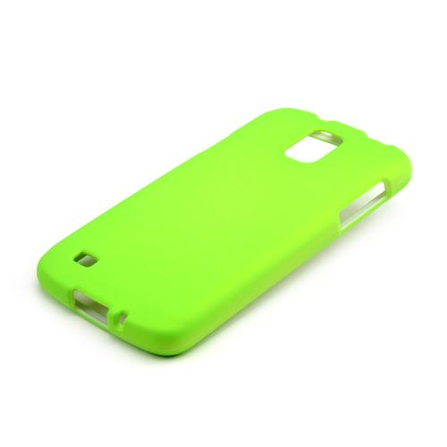 Neon Green Rubberized Hard Case for Samsung Galaxy S4 Active