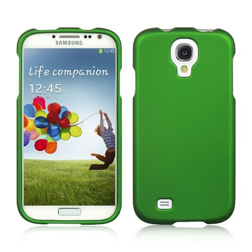 Forest Green Rubberized Hard Case for Samsung Galaxy S4