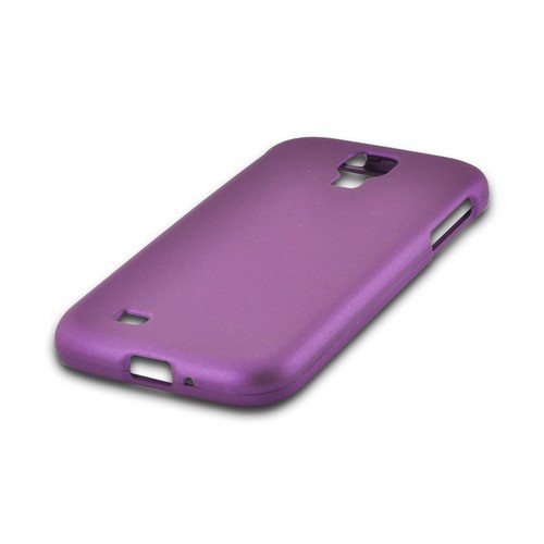 Purple Rubberized Hard Case for Samsung Galaxy S4