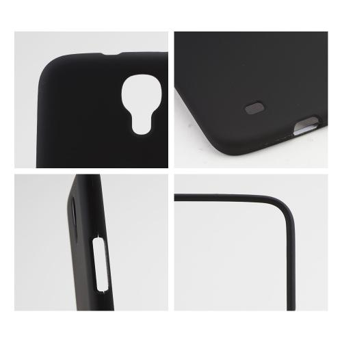 Black Rubberized Hard Case for Samsung Galaxy Mega 6.3