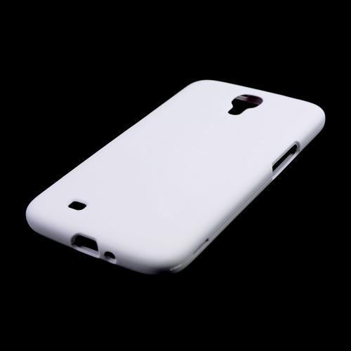 White Rubberized Hard Case for Samsung Galaxy Mega 6.3