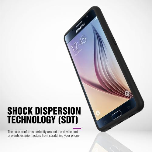 Samsung Galaxy S6 Active Case, BLUE Slim Grip Rubberized Matte Snap-on Hard Polycarbonate Plastic Protective Case