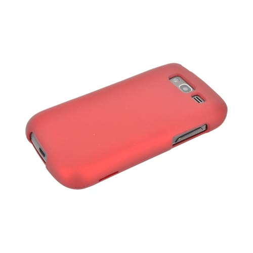 Samsung Galaxy S Blaze 4G Rubberized Hard Case - Red