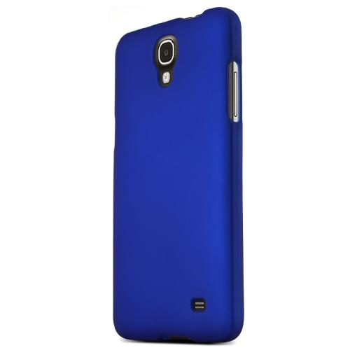 Samsung Galaxy Mega 2 Protective Rubberized Hard Case - Anti-Slip Matte Rubber Material [Slim and Perfect Fitting Samsung Galaxy Mega 2 Case] [Blue]