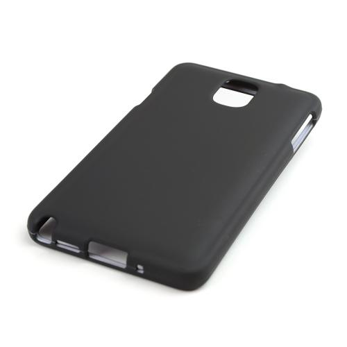 Black Rubberized Hard Case for Samsung Galaxy Note 3