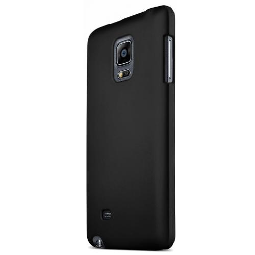 Galaxy Note Edge Case [Black] Featuring Slim Anti-Slip Rubberized Hard Polycarbonate in Matte Finish