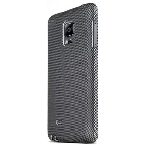 Galaxy Note Edge Case [Carbon Fiber Pattern] Featuring Slim Anti-Slip Rubberized Hard Polycarbonate in Matte Finish