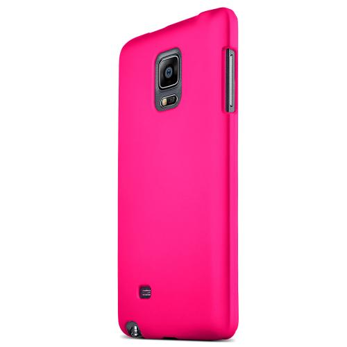 Samsung Galaxy Note Edge Protective Rubberized Hard Case - Anti-slip Matte Rubber Material [Perfect Fitting Samsung Galaxy Note Edge Case] [pink]