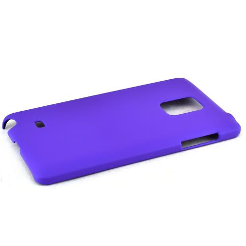 Samsung Galaxy Note Edge Protective Rubberized Hard Case - Anti-slip Matte Rubber Material [Perfect Fitting Samsung Galaxy Note Edge Case] [purple]