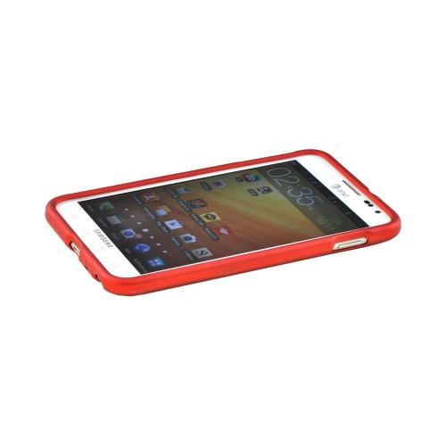 Samsung Galaxy Note Rubberized Hard Case - Orange