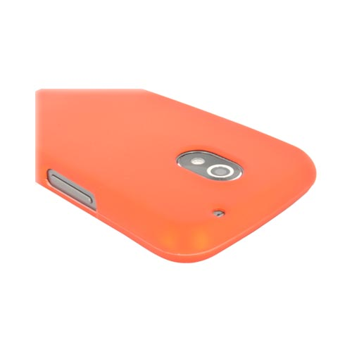 Samsung Galaxy Nexus Rubberized Hard Case - Orange