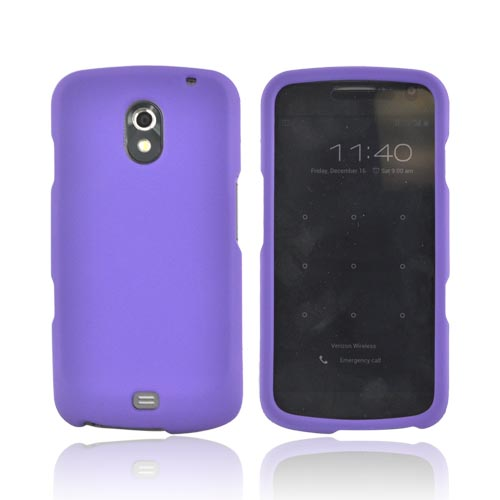 Samsung Galaxy Nexus Rubberized Hard Case - Purple