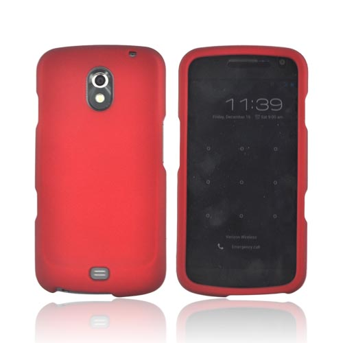 Samsung Galaxy Nexus Rubberized Hard Case - Red