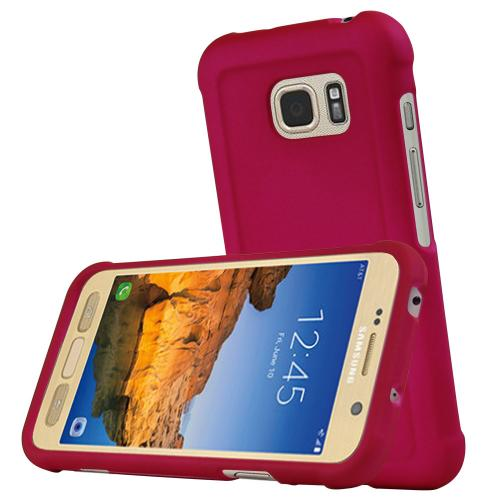 Samsung Galaxy S7 Active Case, REDshield [Hot Pink] Slim & Protective Rubberized Matte Finish Snap-on Hard Polycarbonate Plastic Case Cover