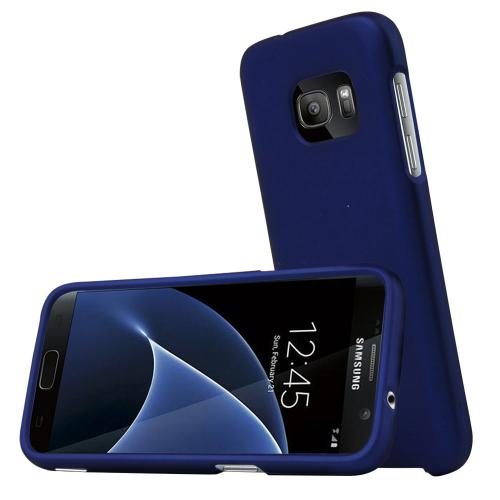 Samsung Galaxy S7 Case, REDshield  [Blue] Slim & Protective Rubberized Matte Finish Snap-on Hard Polycarbonate Plastic Case Cover
