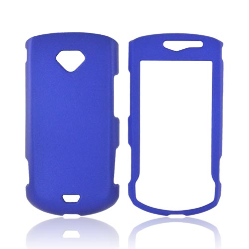 Samsung Gem i100 Rubberized Hard Case - Blue