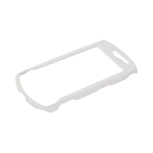 Samsung Gem i100 Rubberized Hard Case - Solid White