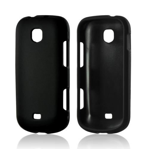 Black Rubberized Hard Case for Samsung Galaxy Stellar