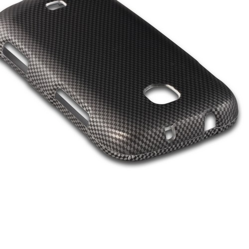 Carbon Fiber Design Rubberized Hard Case for Samsung Galaxy Stellar