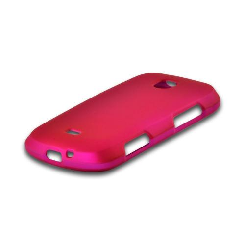 Hot Pink Rubberized Hard Case for Samsung Galaxy Stellar