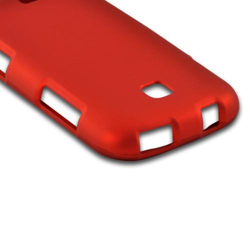 Orange Rubberized Hard Case for Samsung Galaxy Stellar