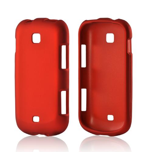 Samsung Orange Rubberized Hard Case For Galaxy Stellar