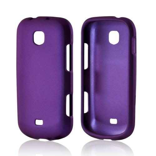 Purple Rubberized Hard Case for Samsung Galaxy Stellar