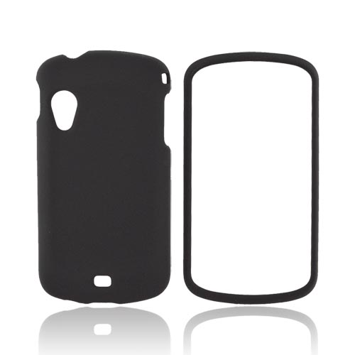 Samsung Stratosphere i405 Rubberized Hard Case - Black