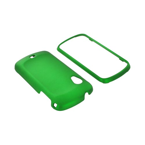 Samsung Stratosphere i405 Rubberized Hard Case - Green